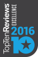 TopTenReviews Excellence Award